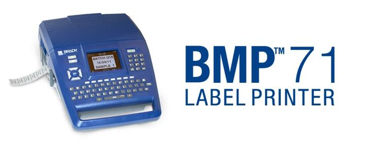 La mejor impresora portátil: Brady BMP71