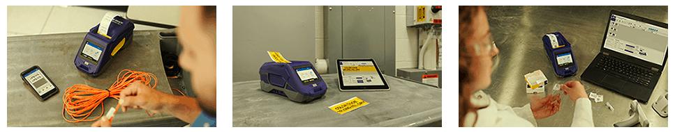 ImpresoraM611 Imprimiendo - Brady M611: identificación más rápida e inteligente