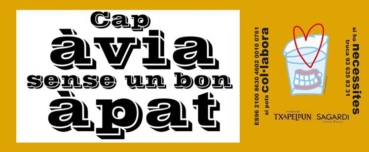 Solidaridad en las cazuelas: #CapÀviaSense