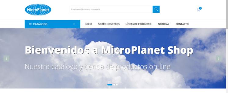 MicroPlanet Shop: nuestro catálogo y tienda de productos online