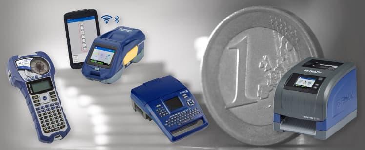 ¡Promoción Impresoras Brady a 1€!