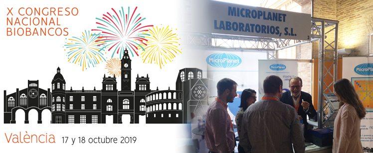 MicroPlanet en el X Congreso Nacional de Biobancos